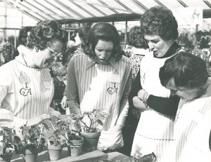 Volunteers at Cox Arboretum in the 1960's