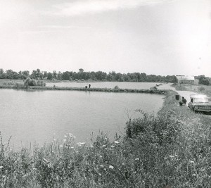 Fishing ponds at Possum Creek circa 1966