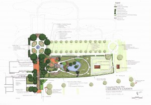 Conceptual Master Plan for the Children's Garden