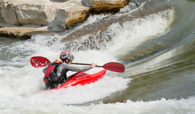 Whitewater Kayaking on Mad River Run