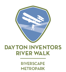RiverScape Inventors' Walk Logo