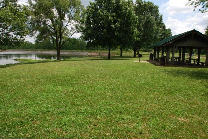 Cedar lake shelter