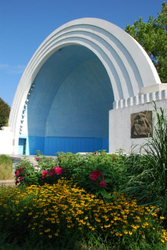 Diehl band shell